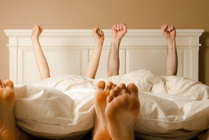 Auf Matratze schlafen