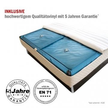 SONDERAKTION bellvita Wasserbett mit Schubladen inkl. Lieferung und Aufbau durch Fachpersonal, weiß, 200 cm x 220 cm -